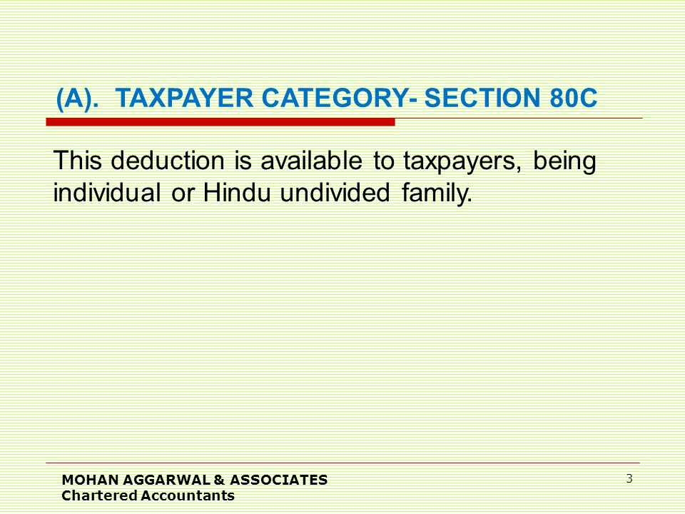 MOHAN AGGARWAL & ASSOCIATES Chartered Accountants 3 (A).