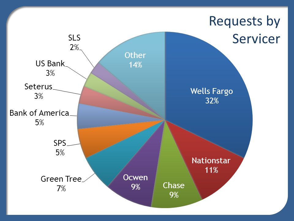 Case Flow *Includes cases later withdrawn by the servicer