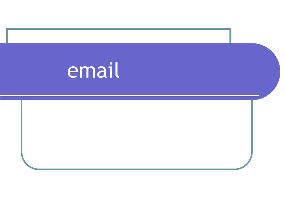 Email: How it works.