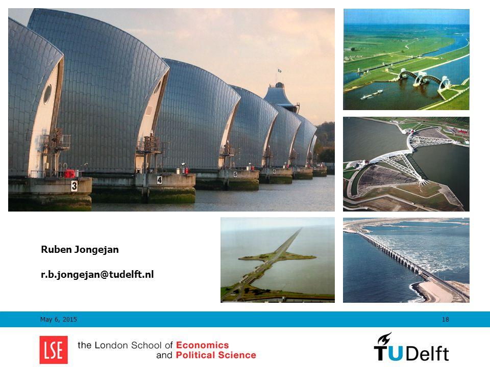 May 6, 201518 Ruben Jongejan r.b.jongejan@tudelft.nl