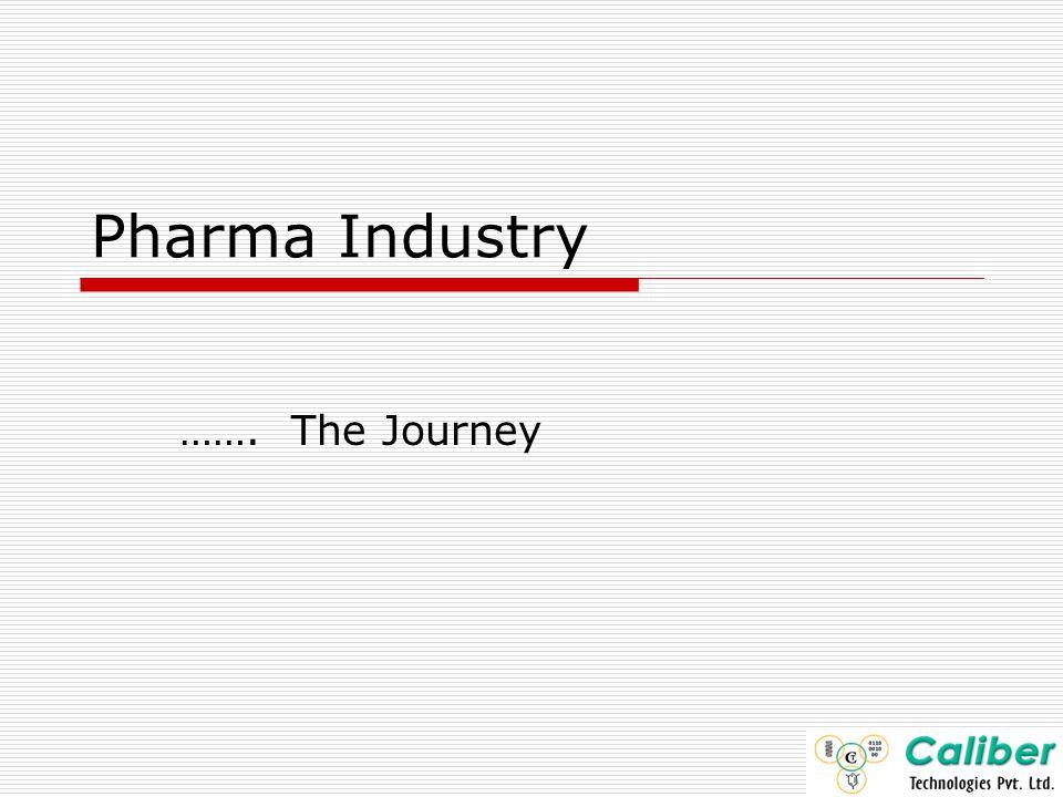 Pharma Industry Journey .