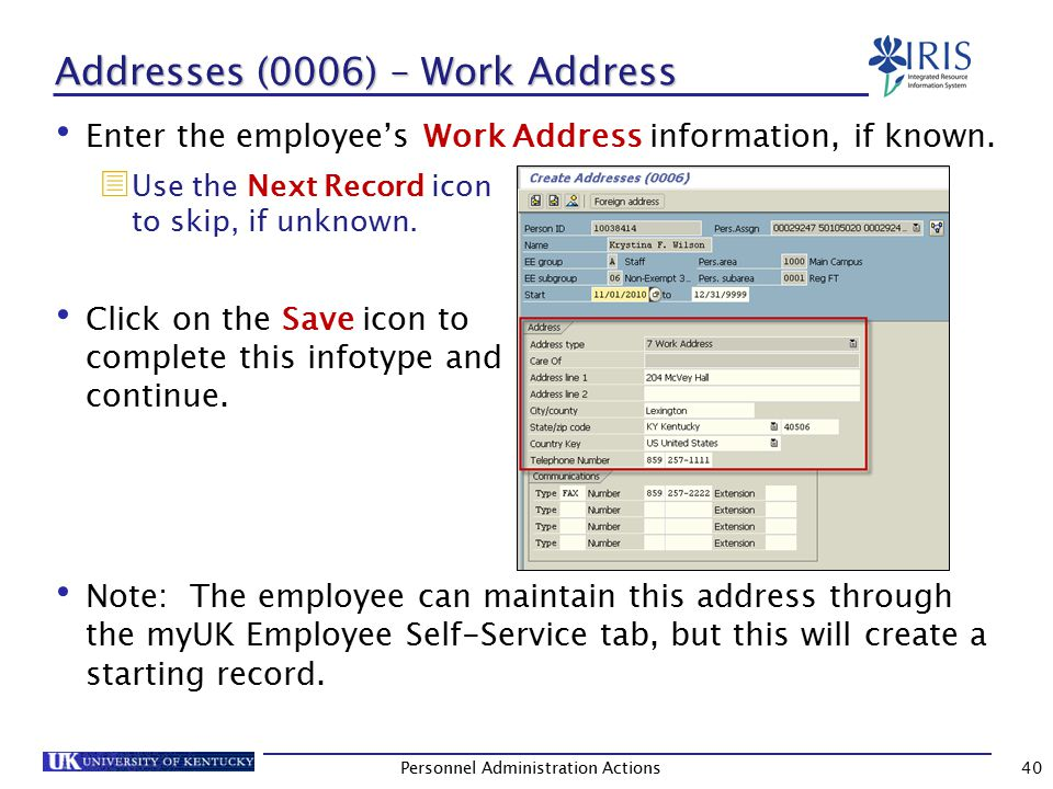Planned Working Time (0007) Press Enter to populate the values in this infotype.