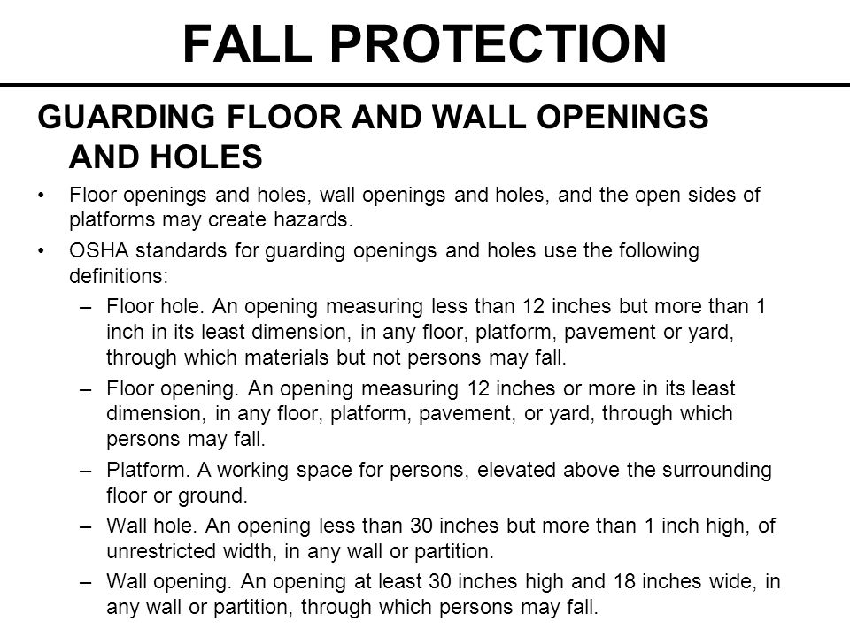 FALL PROTECTION Fixed Ladders A fixed ladder is a ladder permanently attached to a structure, building or equipment.