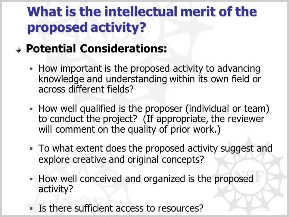 What are the broader impacts of the proposed activity.