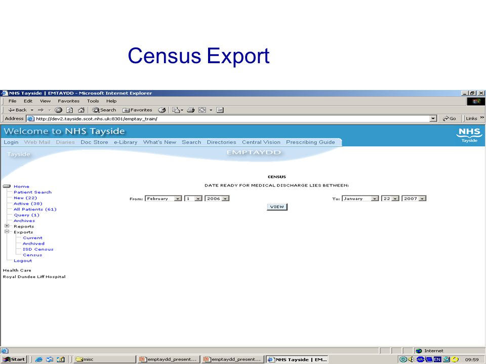 Census Export
