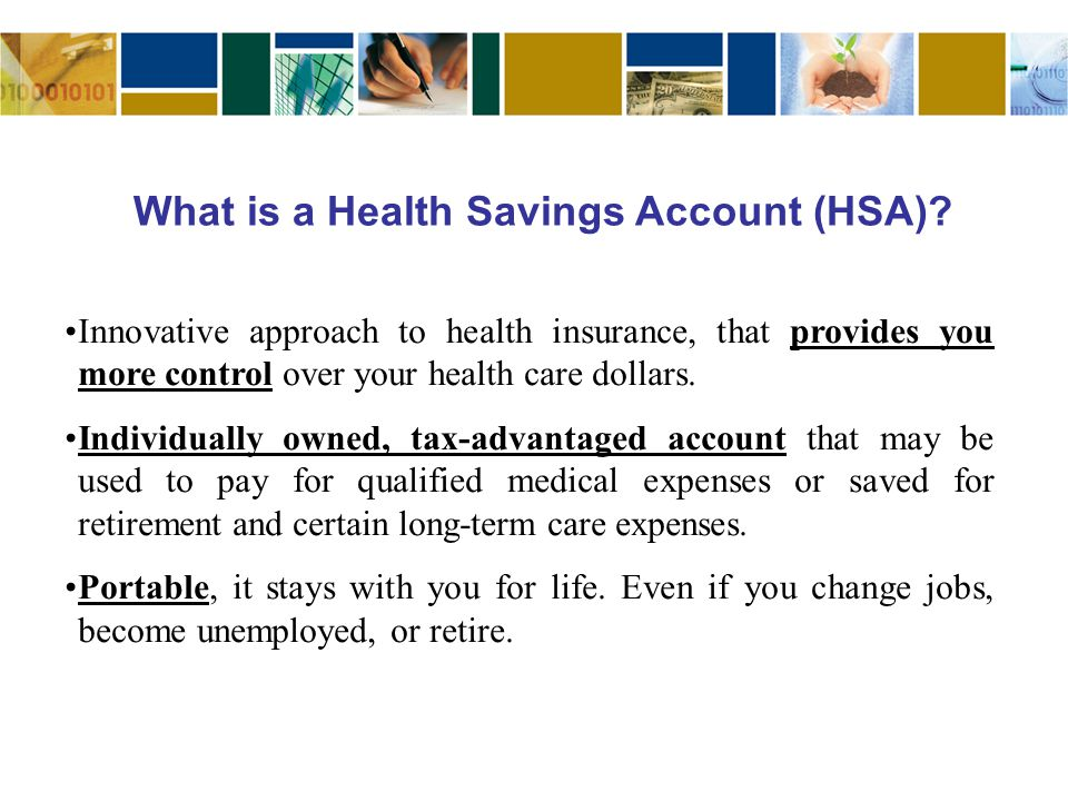 Innovative approach to health insurance, that provides you more control over your health care dollars.