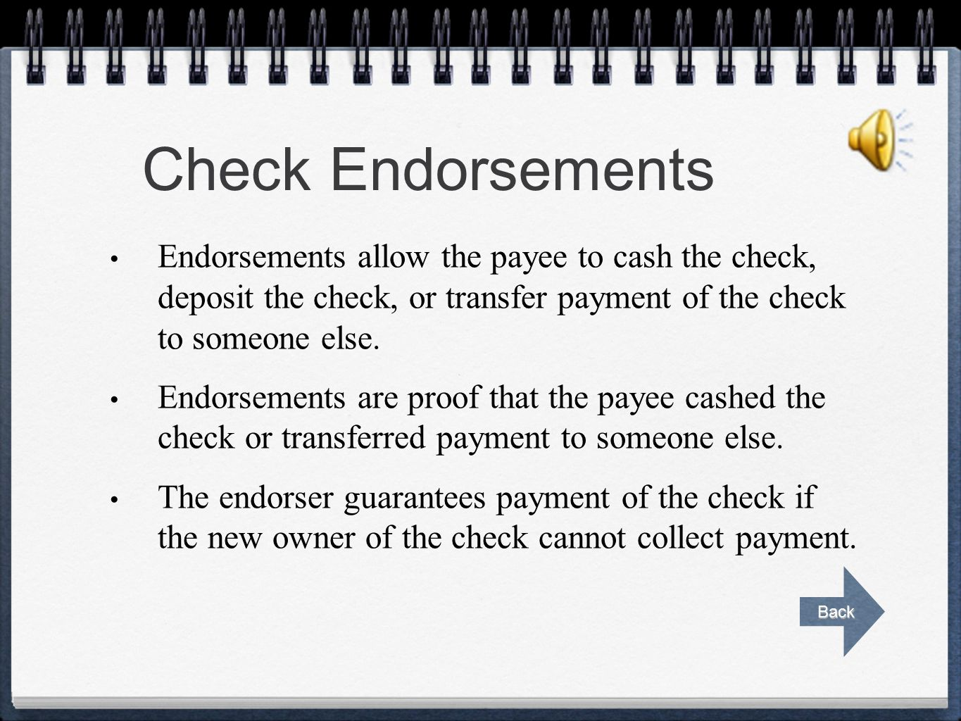 Writing a Check Checks should be written legibly in blue or black ink. Always sign checks exactly as you signed the signature card. Always complete th
