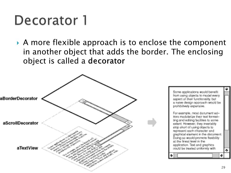 A more flexible approach is to enclose the component in another object that adds the border.