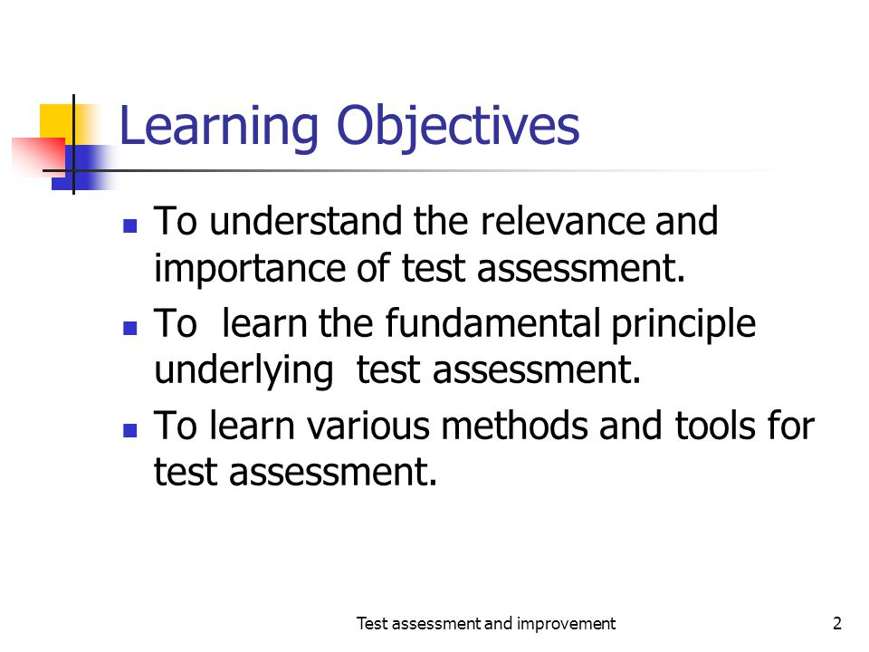 Test assessment and improvement23 Effectiveness-continued One coverage criterion results in an exception to this rule: What is it.