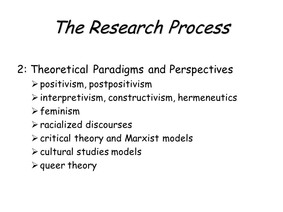 The Research Process 3: Research Strategies  study design  case study  ethnography, participant observation, performance ethnography  phenomenology, ethnomethodology  grounded theory  life history, testimonio  historical method  action and applied research  clinical research