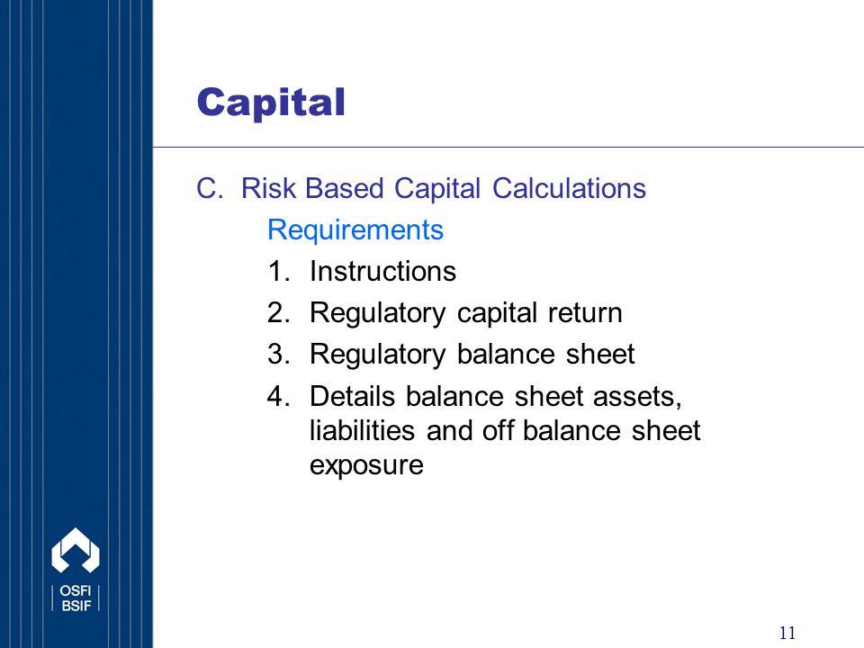 11 Capital C.