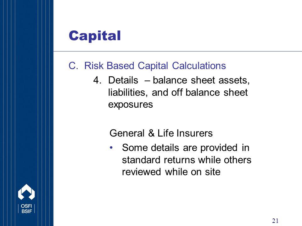 21 Capital C.