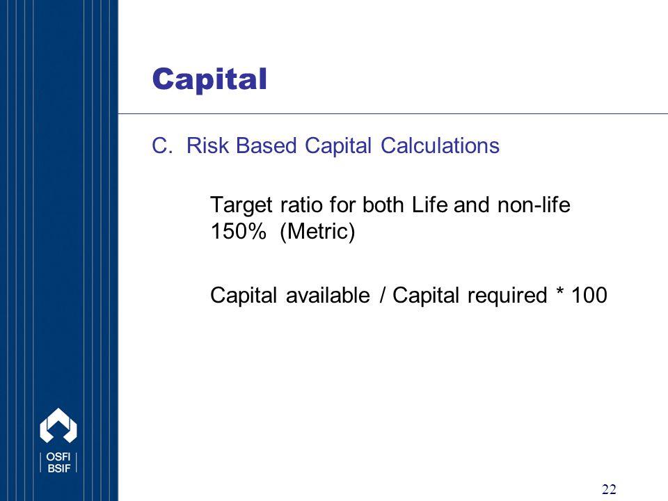22 Capital C.
