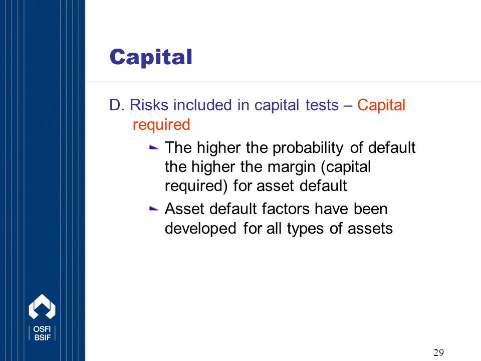 29 Capital D.