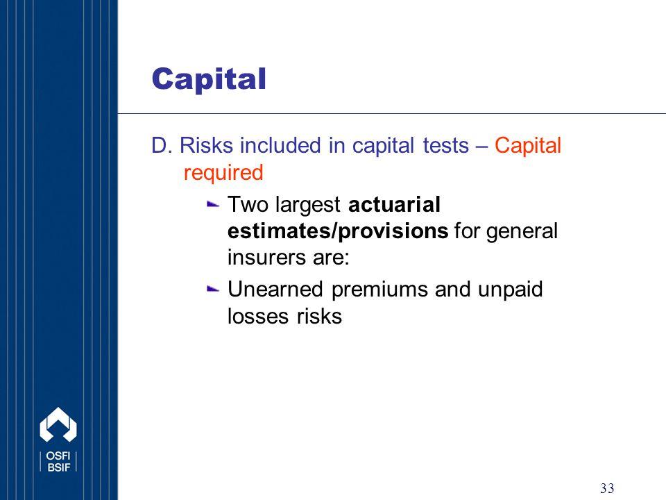33 Capital D.