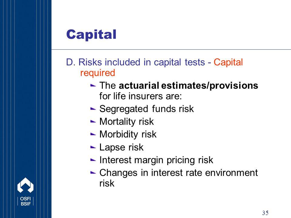 35 Capital D.