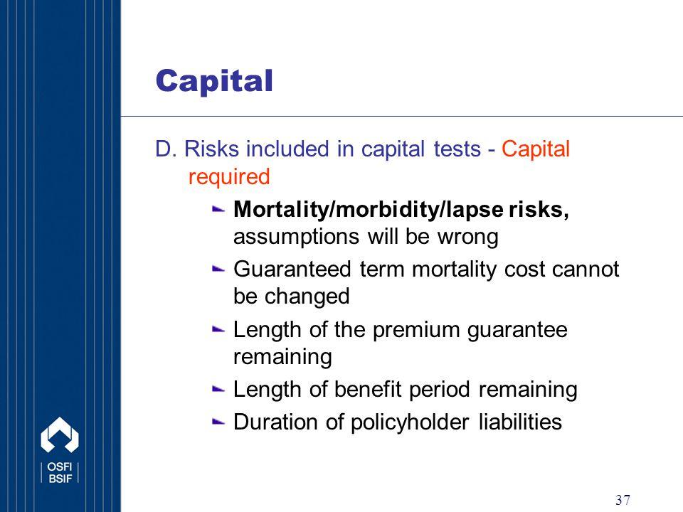 37 Capital D.