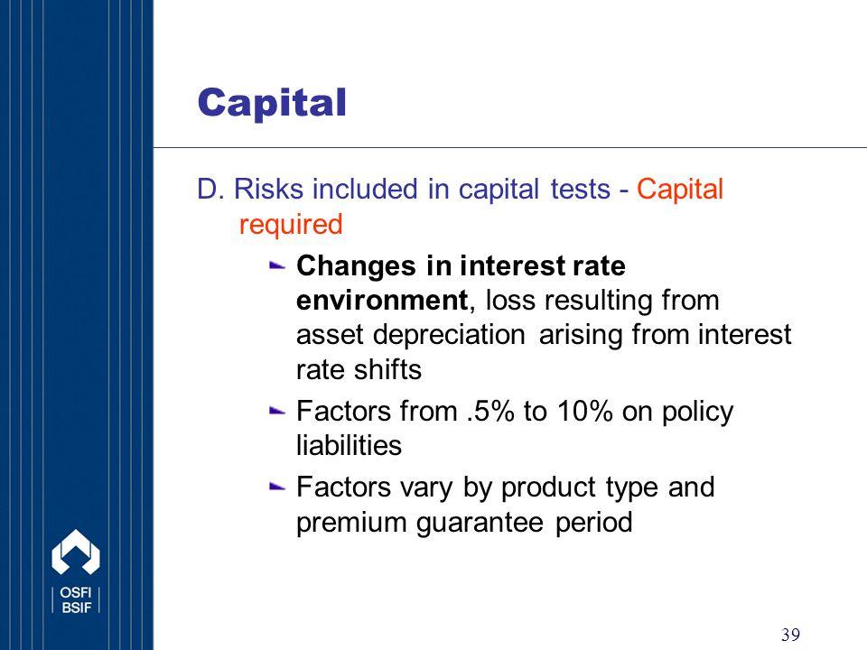 39 Capital D.