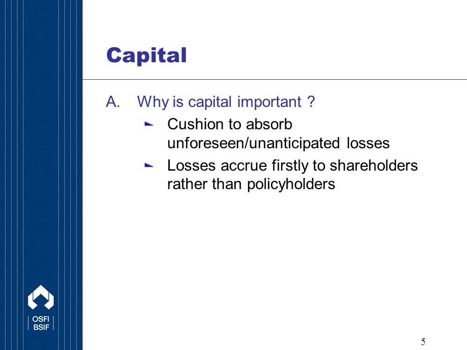 16 Capital C.Risk Based Capital Calculations 1.