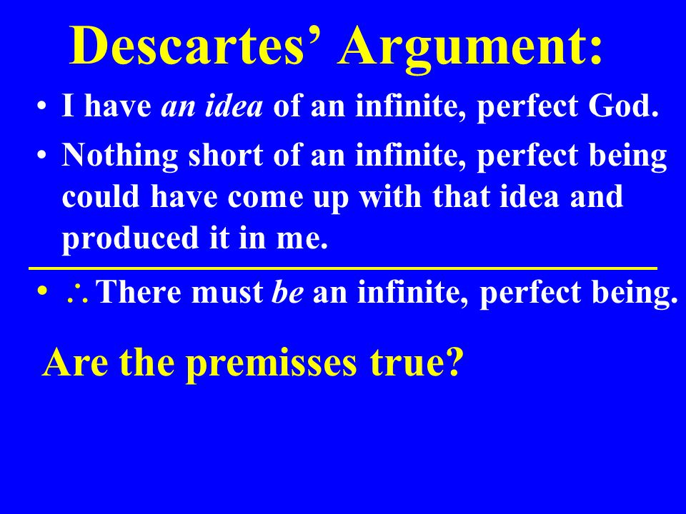 Evaluating Descartes' Adequacy Hypothesis: Where did I get my idea of an infinite, perfect God.
