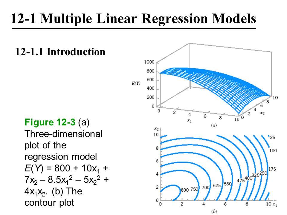 12-1 Multiple Linear Regression Models 12-1.3 Matrix Approach to Multiple Linear Regression where