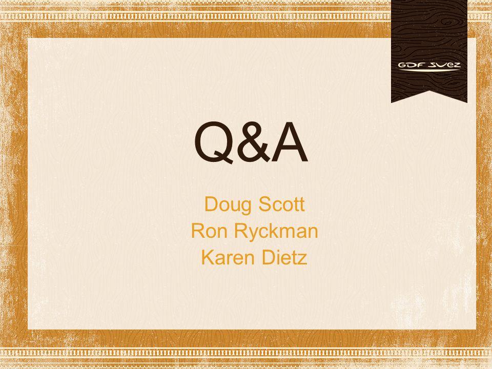 Doug Scott Ron Ryckman Karen Dietz Q&A