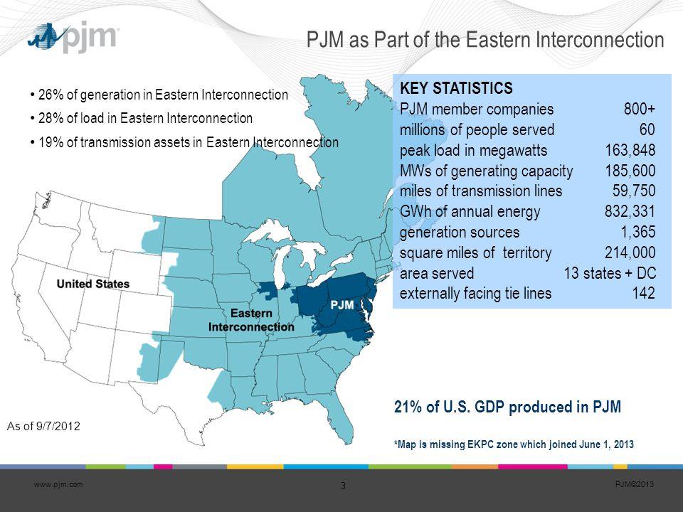 PJM©2013 24 www.pjm.com Energy Efficiency Participation in RPM Over Time