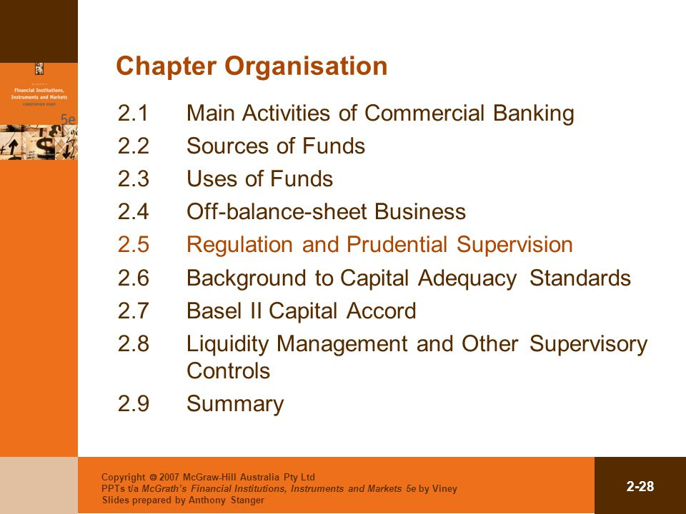 Copyright  2007 McGraw-Hill Australia Pty Ltd PPTs t/a McGrath's Financial Institutions, Instruments and Markets 5e by Viney Slides prepared by Antho