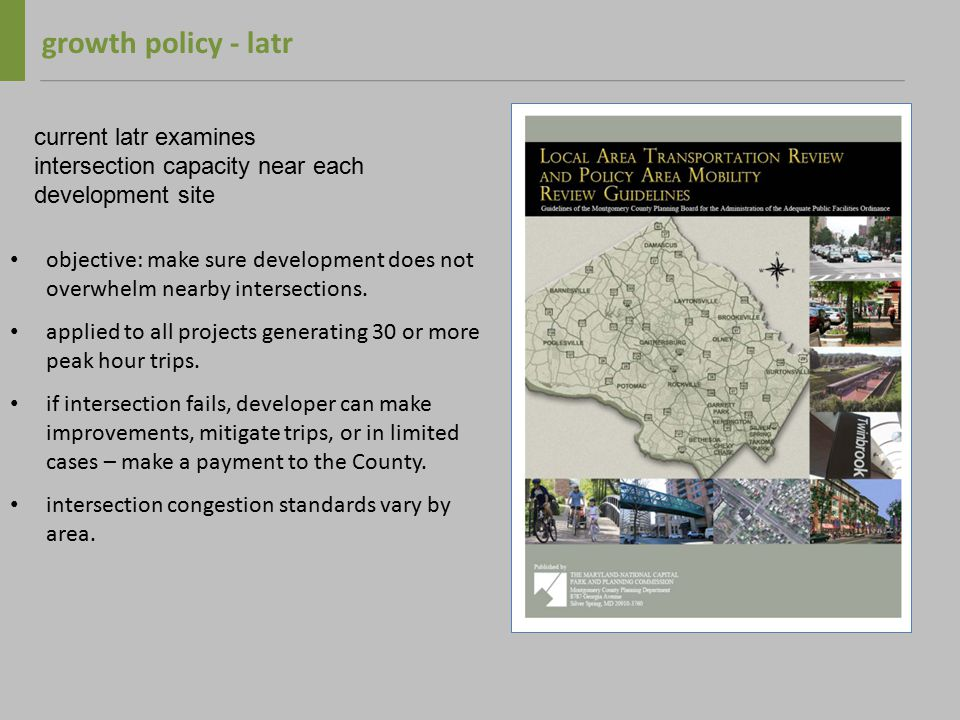 2009-2011 growth policy recommendation 9.