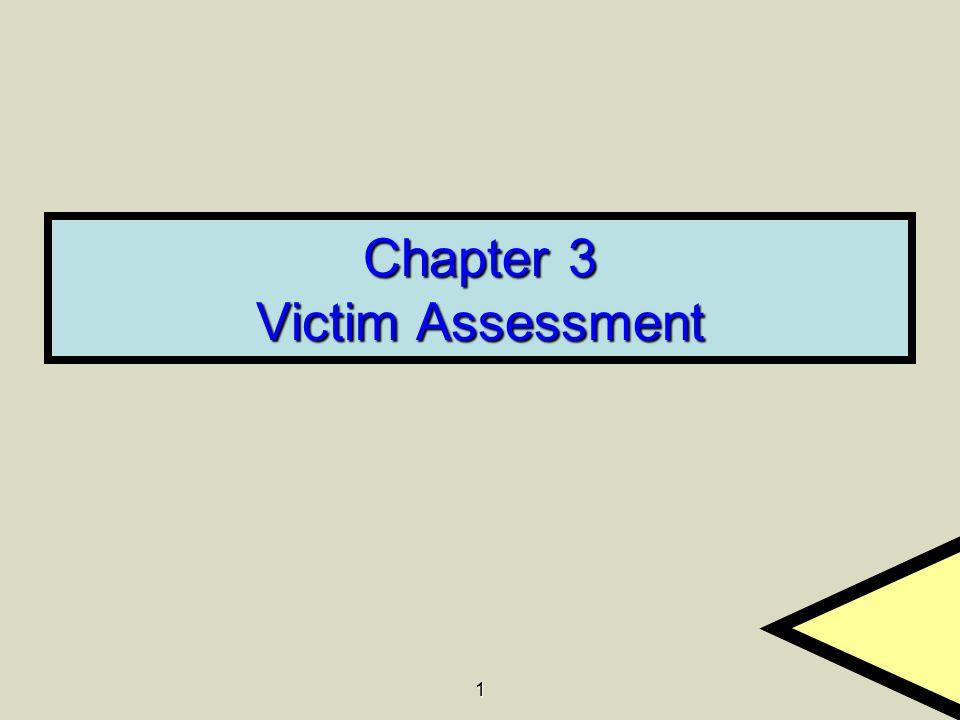 1 Chapter 3 Victim Assessment
