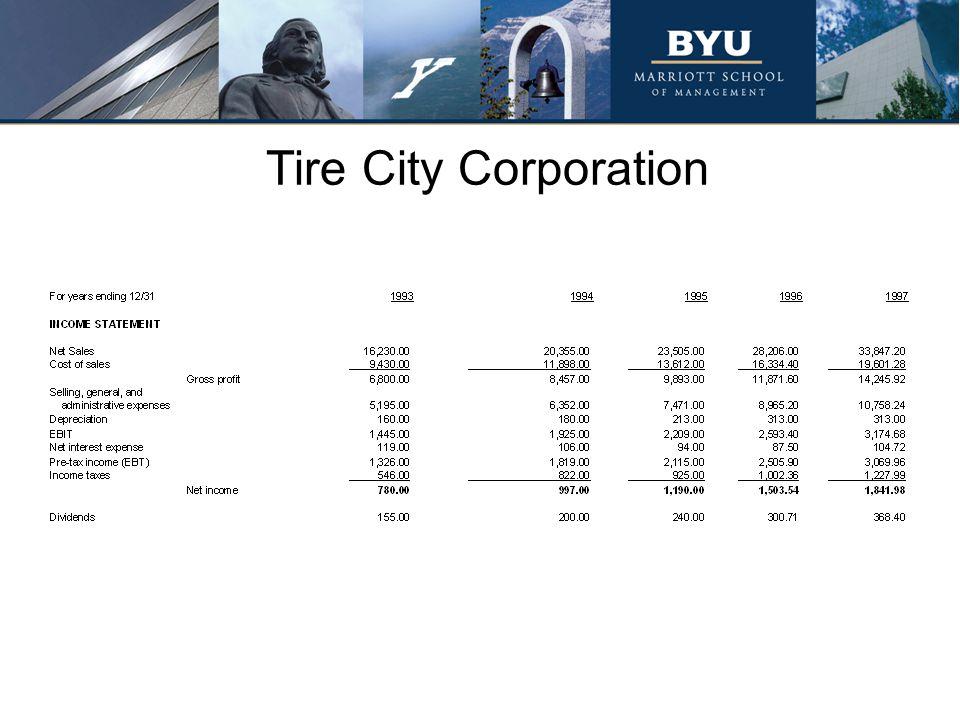 Tire City Corporation