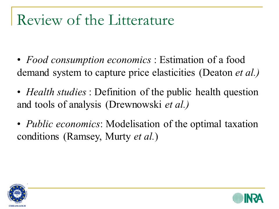 Optimal taxation model Ramsey s model (1927) s.c.Taxes objective: Raise funds.