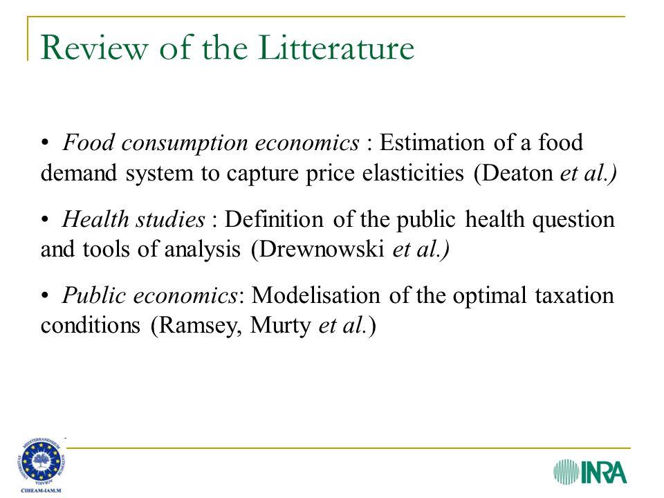 Methodology – Optimal taxation (4) s.c.