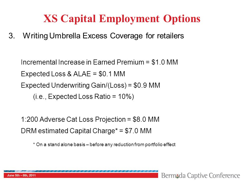 XS Capital Employment Options 3.
