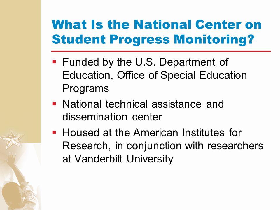 For more information, please visit www.studentprogress.org E-mail us at studentprogress@air.org studentprogress@air.org Or call toll-free 1-866-770-6111