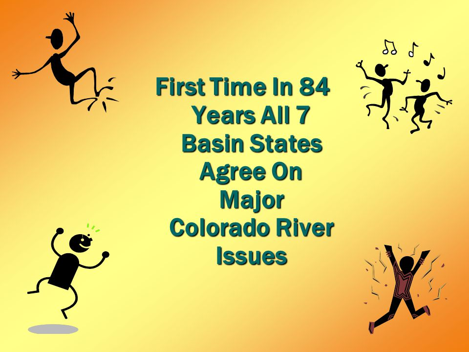 First Time In 84 Years All 7 Basin States Agree On Major Colorado River Issues