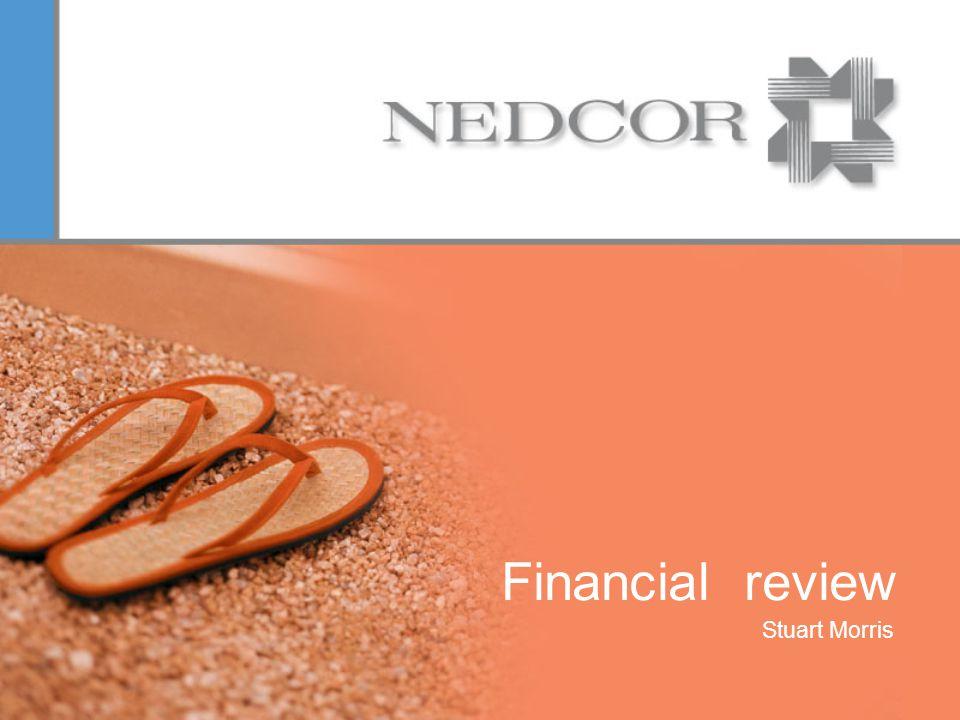 Financial review Stuart Morris