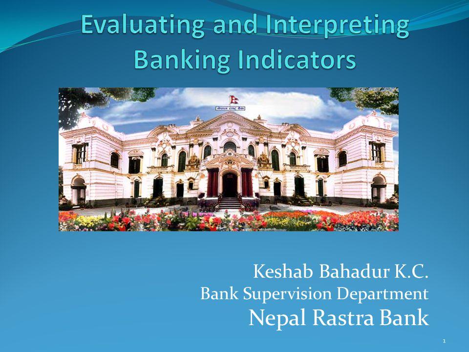 Keshab Bahadur K.C. Bank Supervision Department Nepal Rastra Bank 1