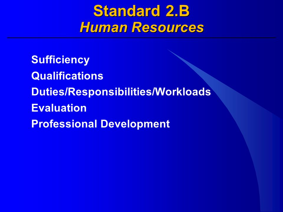 Standard 2.C Education Resources Overarching Considerations Undergraduate Programs Graduate Programs Continuing Education/Non-Credit Programs