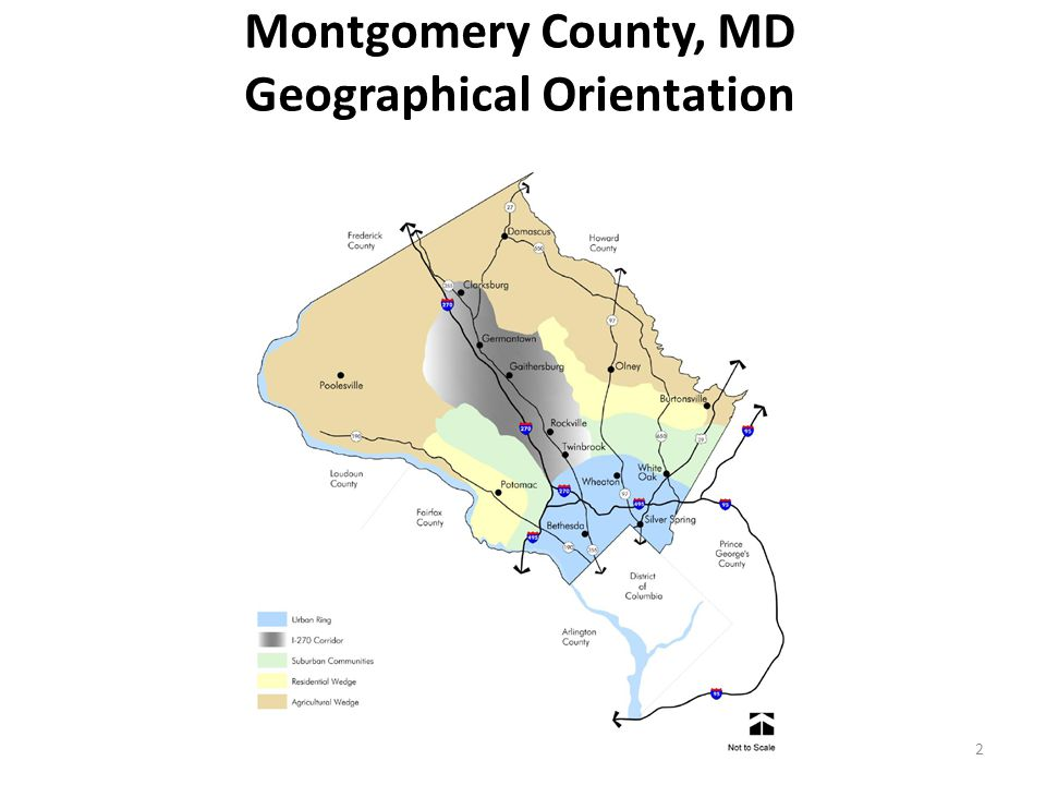 Montgomery County, MD Geographical Orientation 2