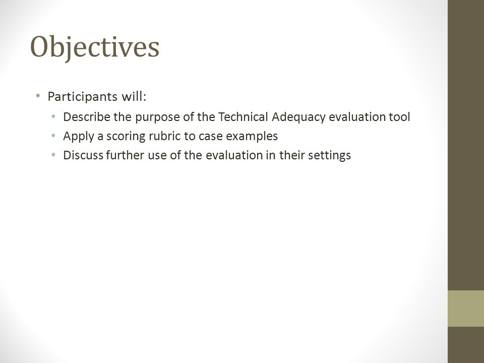 Some Results of Technical Adequacy Research Teaming issues: Teacher and other input not included Identifying behaviors Target behaviors were missing or inadequately defined Match of FBA to Hypothesis Attempt to assign one function/hypothesis to group of target behaviors (e.g., treated all behaviors as one behavior—collected data and developed interventions) Hypothesis statements missing or inadequate Behavior intervention plan development Behavior strategies not linked with hypothesis statement(s) Predominant type of BIP hierarchical stock list of possible positive and negative consequences that follow any problem behavior.