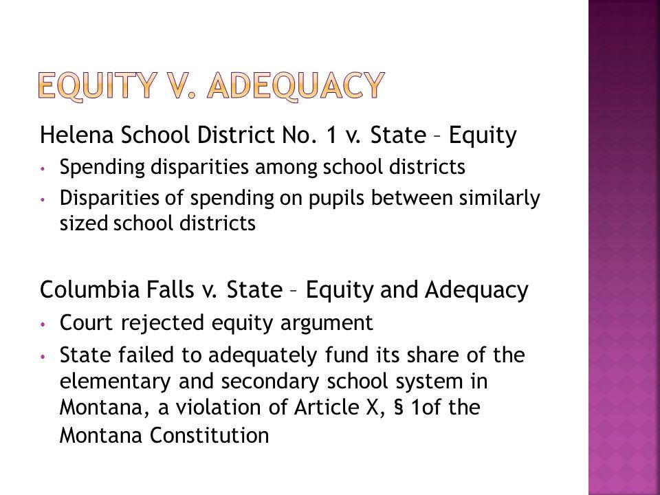 Helena School District No. 1 v.