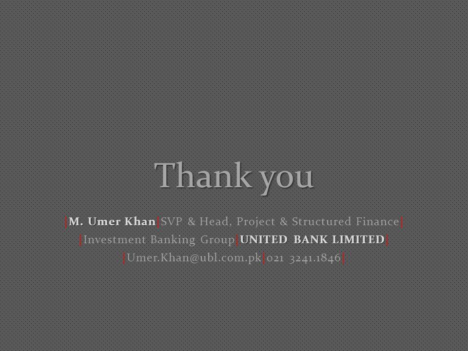 Thank you M. Umer Khan |M.
