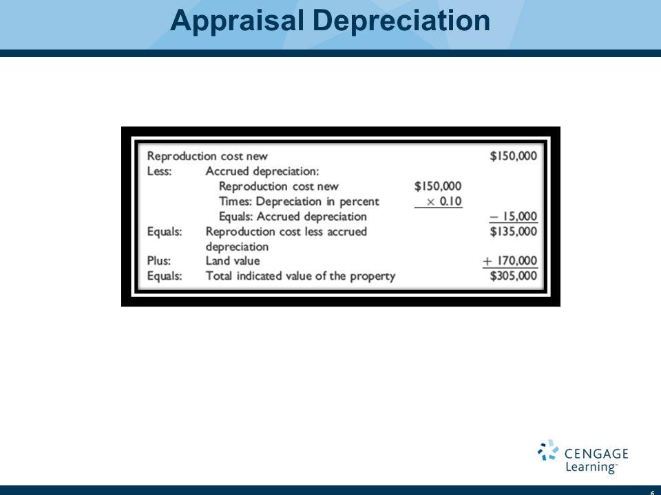 Appraisal Depreciation 6