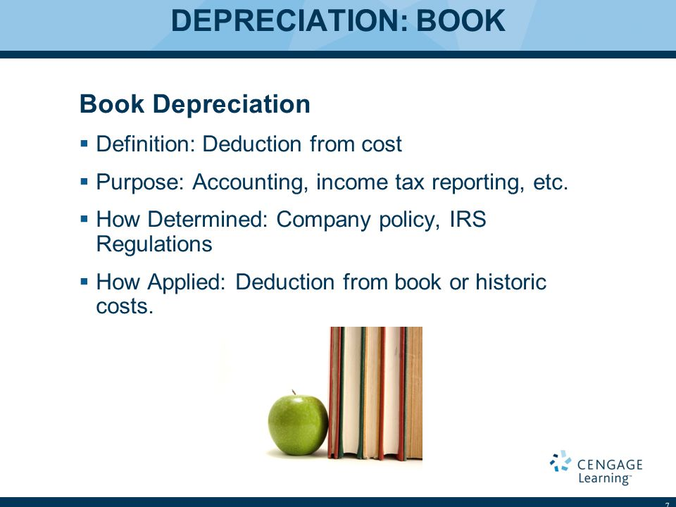 DEPRECIATION: ACTUAL Actual Depreciation  Definition: Loss in value  Purpose: Used in Appraisals (cost approach primarily)  How determined: Cost to cure, age-life, sales data, rental loss…..