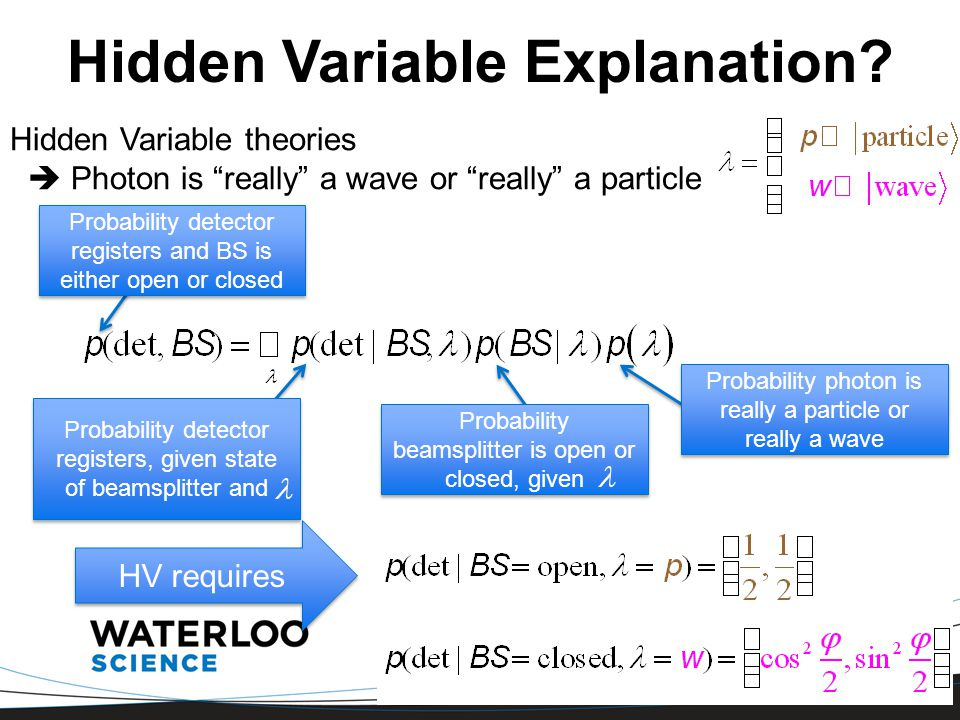 Hidden Variable Explanation.