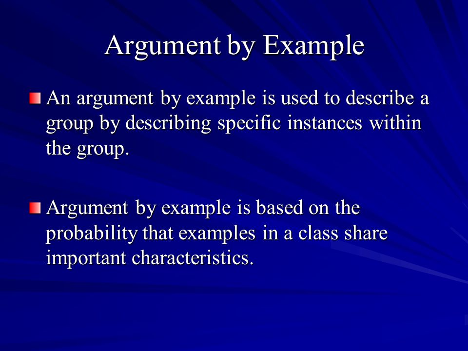 The Function of Causal Arguments Debaters use causal arguments to judge actions based on their consequences.