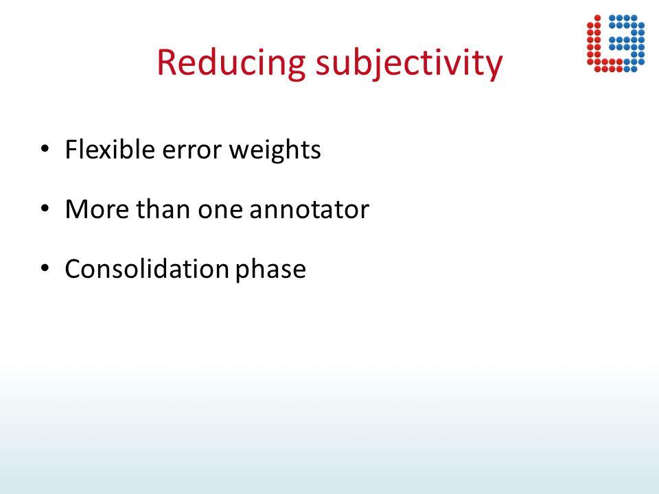 TQA: Annotation (brat) 1) Acceptability 2) Adequacy