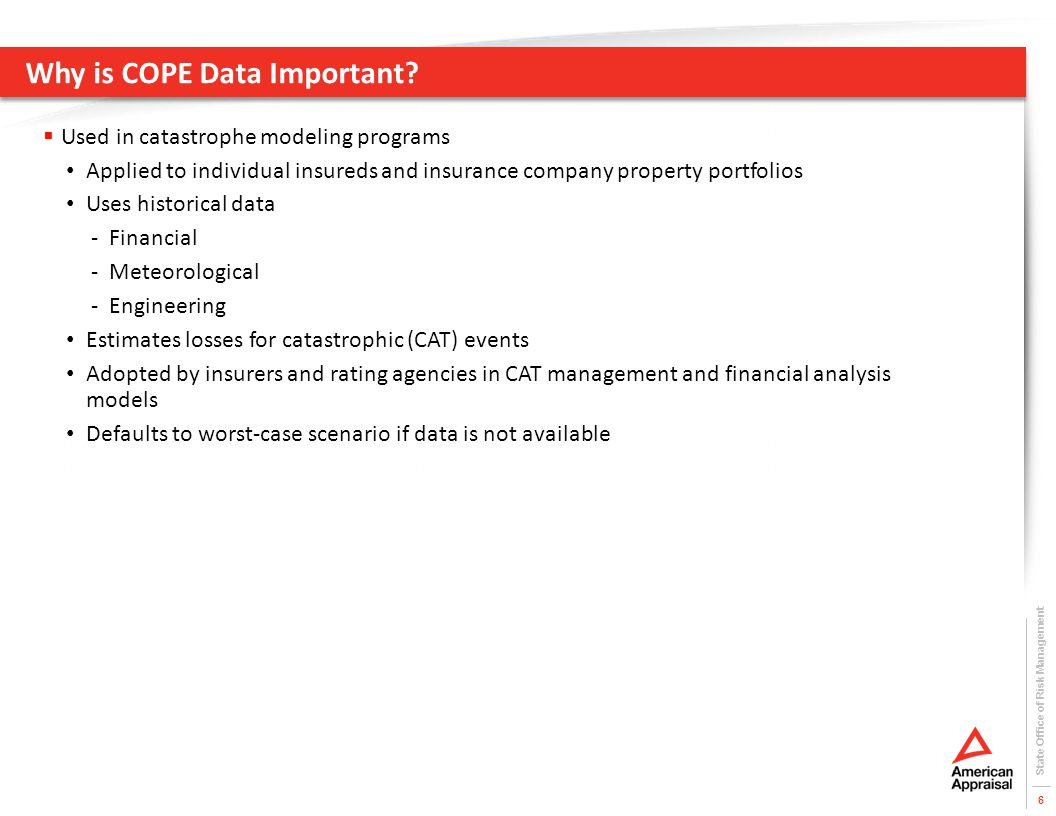 Why is COPE Data Important.