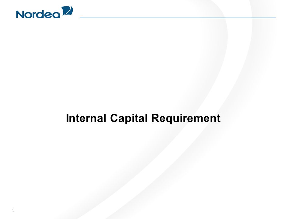 3 Internal Capital Requirement